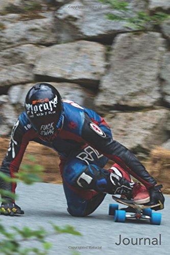 Journal: Male Blue Wheel Racer: Longboard Racer