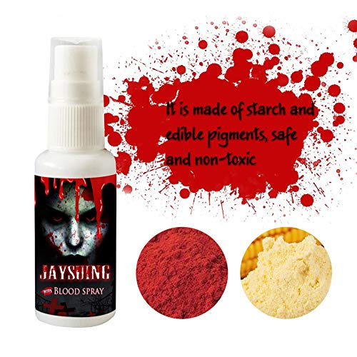 Etophigh Fake Blood Spray Scary Halloween für Theater und Kostüm oder Halloween Zombie, Vampire und Monster Dress Up