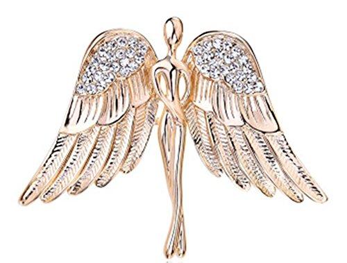 Herren Brosche Engel Flügel Corsage Damen Pullover Strickjacke Schal Brosche