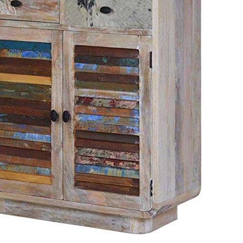 Wohnzimmer Wohnwand im Loft Style Bunt (3-teilig) Pharao24 - 5