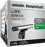Rameder Komplettsatz, Dachträger SlideBar für Opel Astra G CC (115024-03405-12)