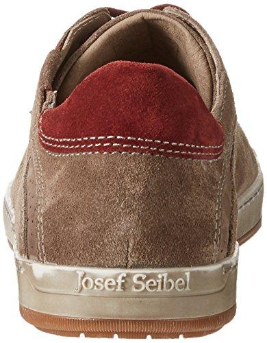 Josef Seibel Herren Gatteo 33 Derby Braun (Taupe-kombi)