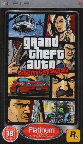 Grand Theft Auto: Liberty City Stories - Platinum Edition (PSP) UK IMPORT - Auto Theft Psp Grand Vice City