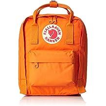 Fjällräven Kanken Kids, Mochila de senderismo, Unisex infantil, Naranja (Burnt Orange)