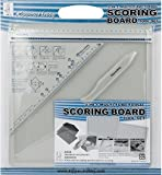 Kippers Hobby Cards, Envelope & Box Making Scoring Board Tool Set - 4pcs