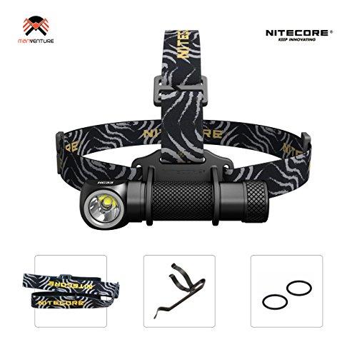Nitecore® HC33 LED Stirnlampe IP68 2M Wasserdicht Taschenlampe Magnetische Multifunktionslampe aufladbar mit CREE XHP35-HD LED Max 1800 Lumen 2018 Aktualisierung von Nitecore HC30 Kopflampe (Akku Nicht Enthalten)