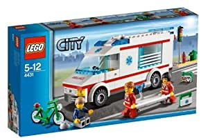 lego city 4431 jeu de construction l 39 ambulance. Black Bedroom Furniture Sets. Home Design Ideas