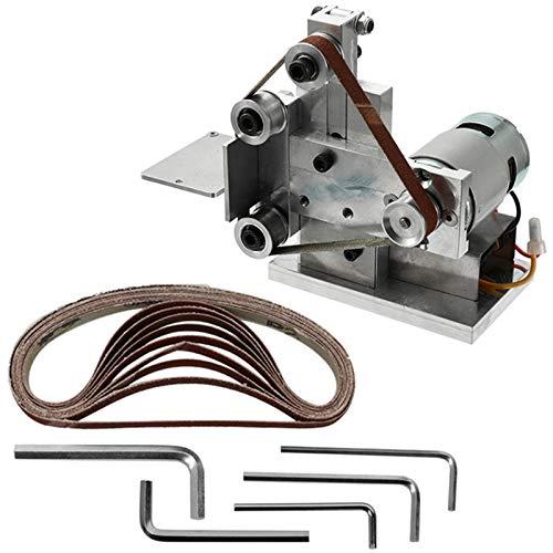 Monland multifunctional smerigliatrice elettrica smerigliatrice a nastro levigatrice per lucidatura diy affilatrice smerigliatrice levigatrice a nastro