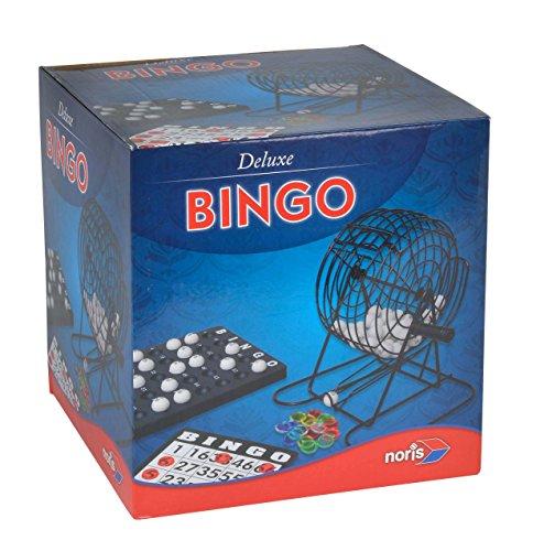 Noris 606108011 Deluxe Bingo, Spieleklassiker