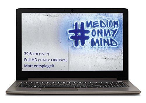"Medion AKOYA S6417 0.9GHz M-5Y31 15.6"" 1920 x 1080Pixeles Negro, Oro - Ordenador portátil (Portátil, Negro, Oro, Concha, M-5Y31, Intel Core M, BGA1234)"