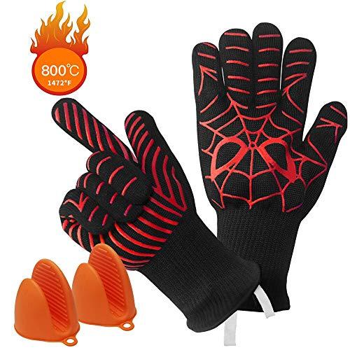 Guantes horno, manoplas horno resistente calor 1472