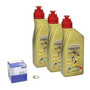 Castrol power1 (10W – 40 huile de yamaha fZ1 fazer modèles 06-14 mahle temps, et d'étanchéité pour filtre à huile pas cher