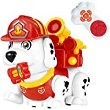 Electronic Pet Dog Remote Control Firehouse Puppy Educational And Interactive Smart Toy For Girls And Boys 3 Year Old And Up With Sounds