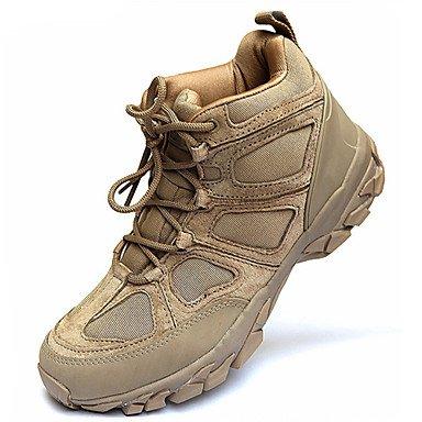 Aemember Mountain Bike caccia scarpe scarpe scarpe da trekking scarpe alpinista Unisex indossabile antiscivolo traspirabilità Turismo Sport Low-Top poliammide,Kaki,40 41