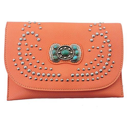 american-bling-sacs-bandoulire-femme-orange-orange-taille-unique