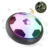 ZWOOS Air Power Soccer Fußball mit LED Beleuchtung und Musik Kinder Air Fussball Spielzeug für Drinnen und Draußen (Batterien nicht enthalten)