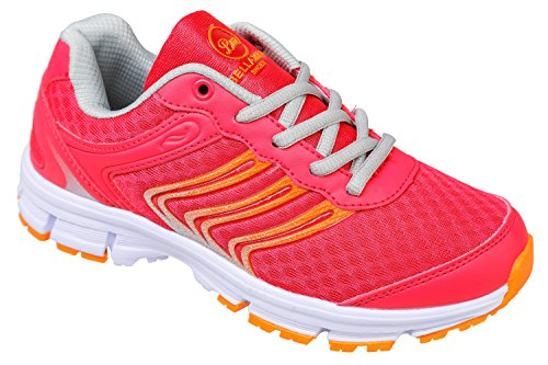 gibra, Sneaker donna Rosa (Pink/Orange)