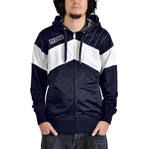 Assassin's Creed Unity Trainingsjacke blau/weiß XXL