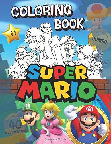 Super Mario Coloring Book: Super Mario Jumbo