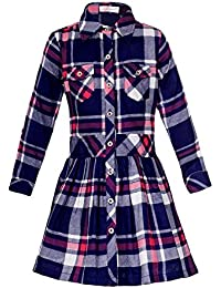 Naughty Ninos Girls Shirt Dress