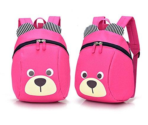 A Little Bear Anime Questo zaino bambino asilo nido Bambino ragazza vivaio - Satchel Child Kindergarten (rosa)