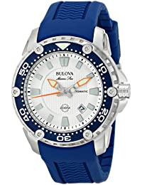 (CERTIFIED REFURBISHED) Bulova Marine Star Analog Silver Dial Men's Watch - 98B208