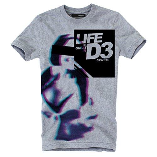 """DEPARTED Fashion Shirt """"3105-030"""" Grau"""