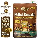 Slurrp Farm Millet Pancake Mix, Chocolate and Supergrains, 150g