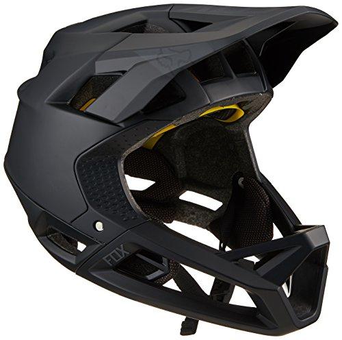 Fox Herren Proframe MTB Fullface Helm, Matte Black, L (59-60cm)
