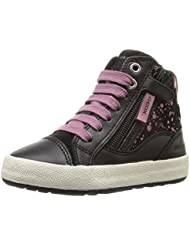 Geox Mädchen Jr Witty B Hohe Sneakers