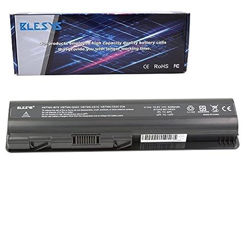 BLESYS - 5200mAh HP KS524AA KS526AA KS527AA 498482-001 484171-001 485041-001 485041-003 513775-001 HSTNN-LB72 HSTNN-Q34C 462889-543 Ersatz-Laptop Akku passen HP G50 G60 G70 G71, HP HDX16 DV4, Compaq Presario CQ60 CQ61 CQ70 CQ71 Series akku