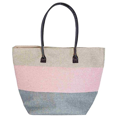 Price comparison product image Clayre & Eef BAG277 Bag Beach Bag Shopping Bag ca. 30 x 23 x 37 cm