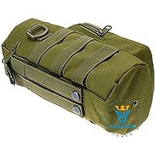 Multifunción Supervivencia Gear Tactical Molle bolsas bolsas cremallera botella de agua bolsa, al aire libre Camping bolsa de herramientas bolsos bolsa de portátil bolsa de viaje, OD