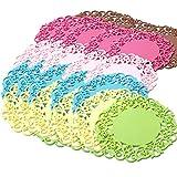 Limeo Glasuntersetzer Hohler Untersetzer glasuntersetzer silikon Glas-Untersetzer Bierdeckel Runder Untersetzer Tischmatte-Getränk-Untersetzer Kreativer (50 insgesamt Zufällige Farbe)