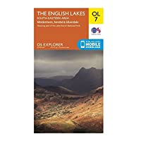 ORDNANCE SURVEY Explorer OL7 The English Lakes – South Eastern Area With Digitial Version