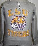 LSU Tigers Women's Lace Up Hard Course Fan Pullover Sweatshirt