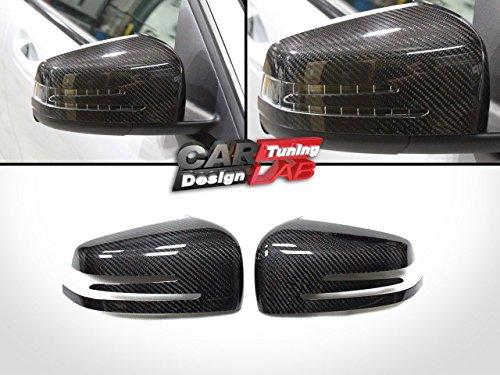 Preisvergleich Produktbild (2) Carbon Tür Spiegel Abdeckungen für Mercedes Benz W204C204W212C207W218W221W216