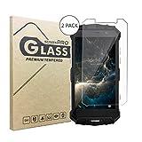 2 Stück Panzerglasfolie Tempered Glass Hartglas Schutzfolie für Doogee S60,0.3mm clear 2.5D 9H Hardness aus gehärtetem Glas Ultra Clear Panzerglas Transparent Folie für Doogee S60