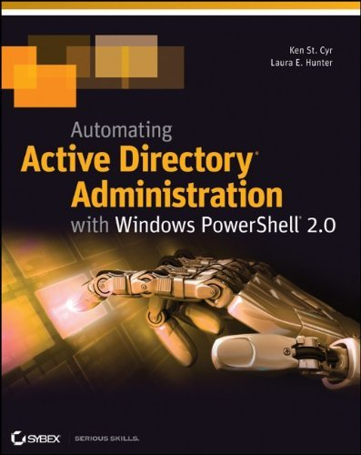 Automating Active Directory Administration with Windows PowerShell 2.0 by Ken St. Cyr (24-Jun-2011) Paperback