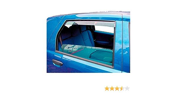 Hintere Windabweiser 1 Set Für Die Fahrer Und Beifahrerseite Cli004m2028 Passend Für Skoda Karoq Suv Typ Nu 5 Door 2017 Auto