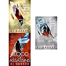 Wounded kingdom series rj barker collection 3 books set