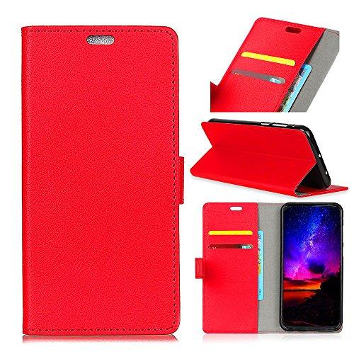 casefirst Sony Xperia XZ2 Premium Wallet Multi Card Holder Boys Durable Protective Case Folio PU Leather Cover with Durable Protective Case Case for Sony Xperia XZ2 Premium - Red - 4527-tools
