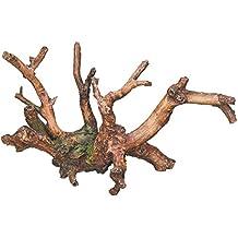 Nobby raíces Acuario Adornos, l17.5X 9X 9,5cm)