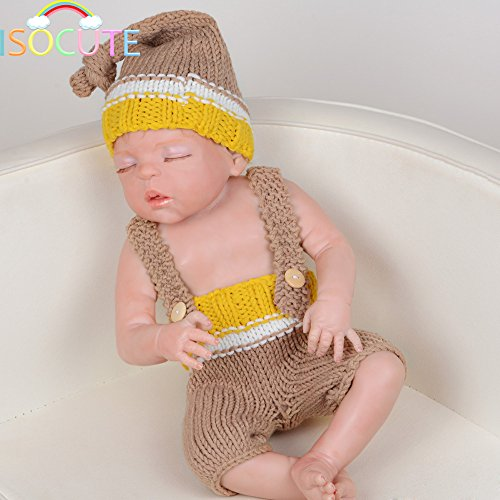 22% OFF on Generic So Cool Newborn Photography Props Boys Handmade Knit  Crochet Baby Boy Hat and Shorts for baby photo props on Amazon  2d02fe8b39ae