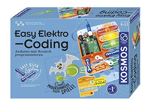 KOSMOS 620523 Easy Elektro - Coding. Arduino programmieren mit Scratch, Experimentierkasten für Kinder