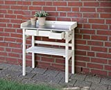 Fallen Fruits Garden Work Bench - Cream