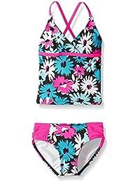 Kanu Surf Big Girls Allison Tankini Swimsuit