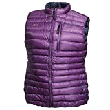 Daunen Weste Cross Ultra Lightweight Damen imperial purple XL