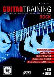 Guitar Training Rock + CD + DVD: Das ultimative Trainingsprogramm für die E-Gitarre