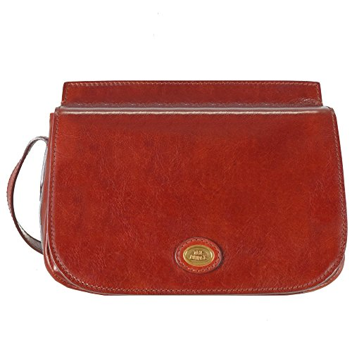 The Bridge Story Donna Sac bandouliére I cuir 27 cm rosso ribes